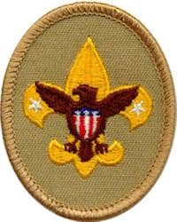 tenderfoot badge